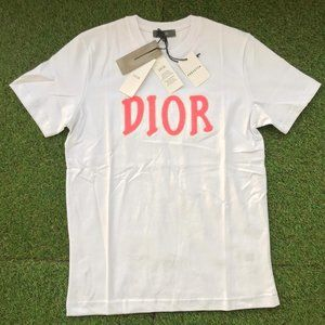 D!OR X Shawn Embroidered T-Shirt ( White)